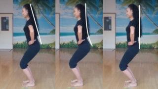 フラダンス基本姿勢